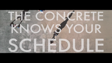 The Concrete Knows Your Schedule